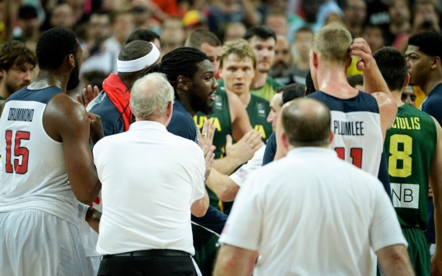 Kas nemoka garbingai pabaigti rungtynių: Lietuva ar JAV?
