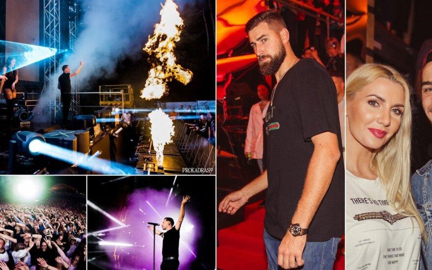 SEL koncerto VIP svečiai Foto/ Irmantas Gelūnas