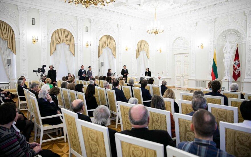 Į ceremoniją neįleistą Kuodytę nustebino Prezidentūros atstovų elgesys