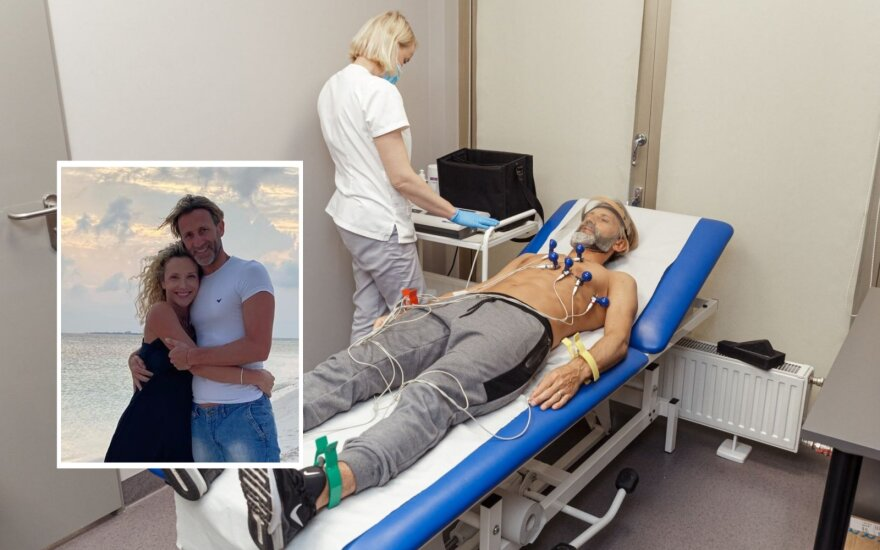Editos Daniūtės sutuoktiniui Mirko Gozzoli teko atlikti operaciją/ Foto: asmeninio archyvo