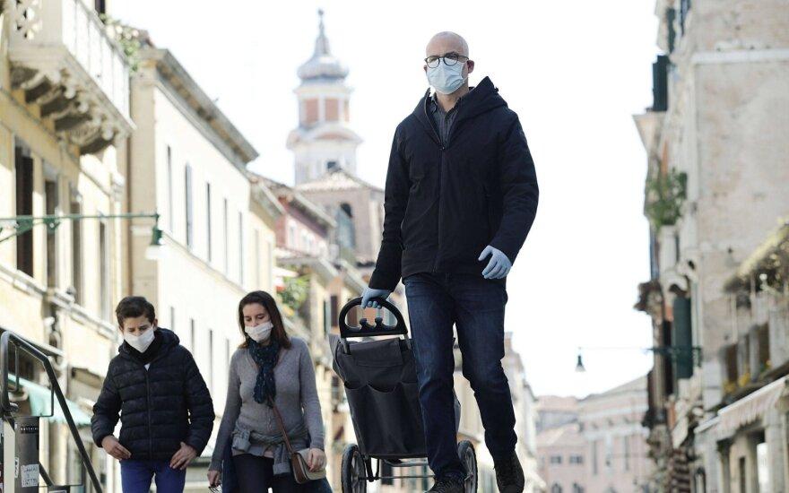 Europoje užfiksuota daugiau kaip milijonas užsikrėtimo koronavirusu atvejų