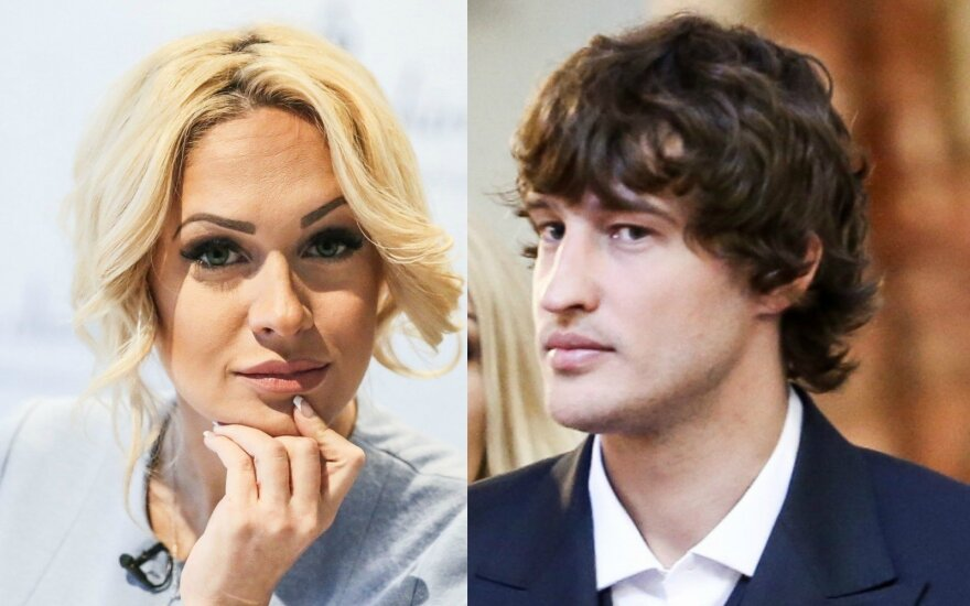 Oksana Pikul-Jasaitienė ir Simas Jasaitis