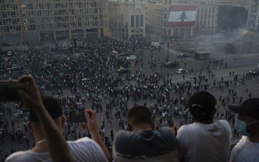Protestas Beirute