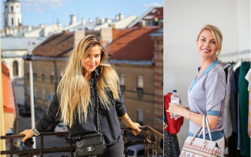 Milita Daikerytė ir Solveiga Mykolaitytė