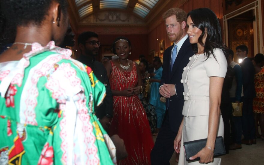 Princas Harry ir Meghan Markle