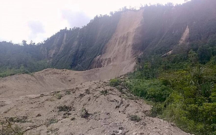 Papua Naujojoje Gvinėjoje per drebėjimą galėjo žūti per 30 žmonių