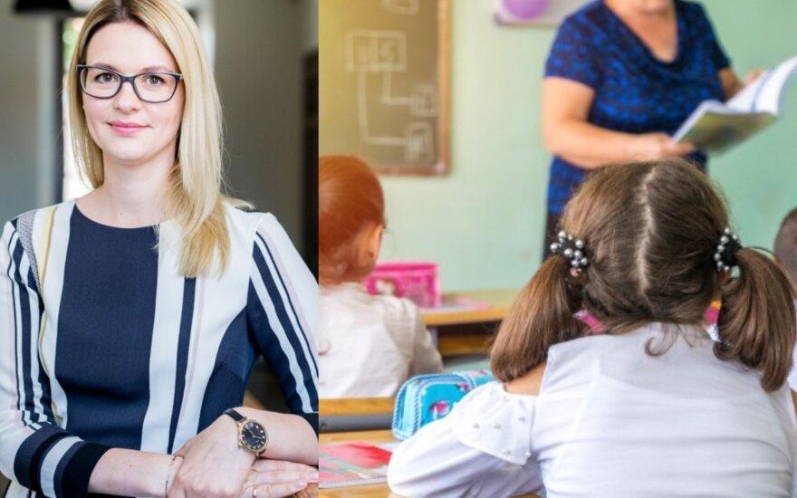 Šiaurės licėjaus priešmokyklinio ugdymo mokytoja Evelina Milerienė