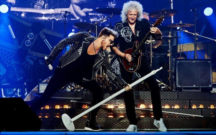 Queen koncertų akimirkos