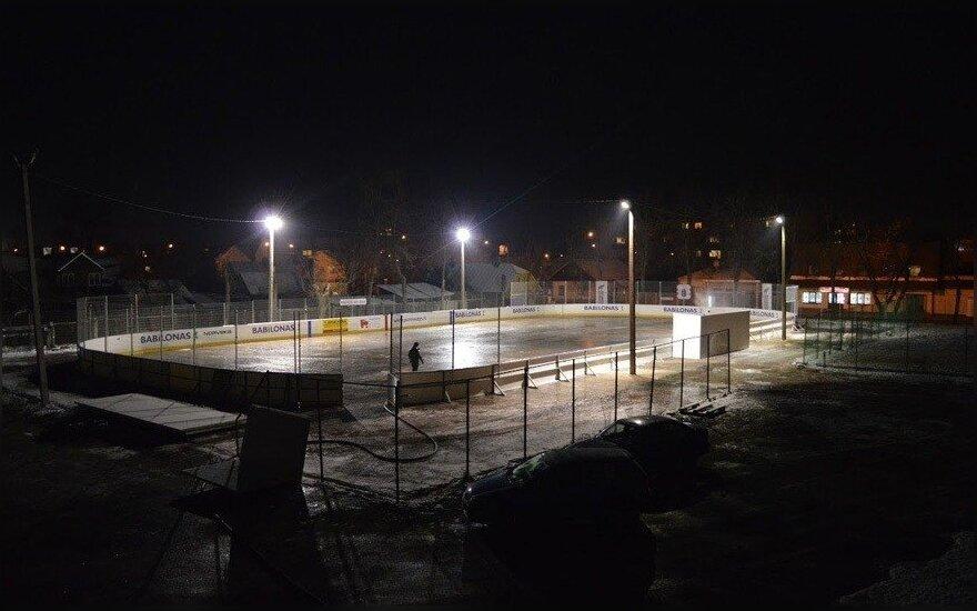 Panevėžyje rudenį bus atidaryta ledo arena
