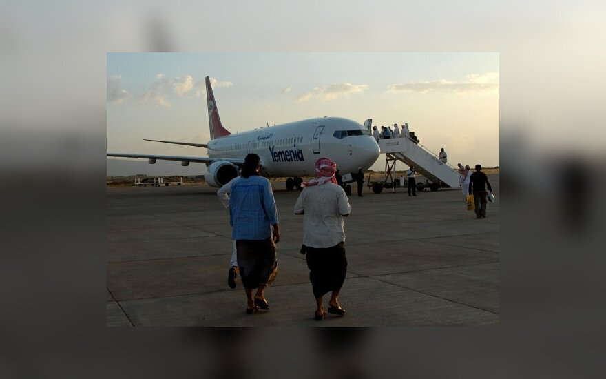 """ES reikalauja skrydžių saugumo užtikrinimų iš bendrovės """"Yemenia"""""""