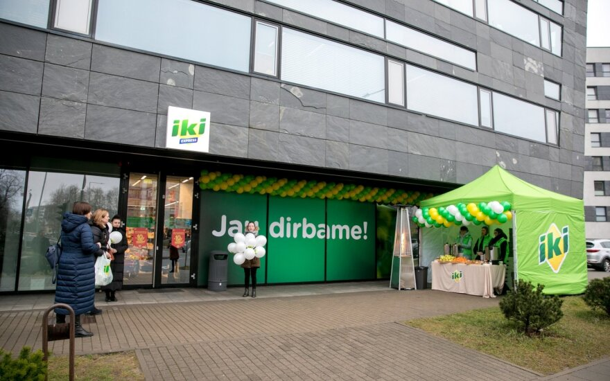 """Vilniuje – nauja """"Iki Express"""" parduotuvė"""