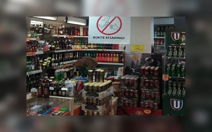 Prekybos tinklas imasi akcijos prieš pažeidimą darančius alkoholio pirkėjus