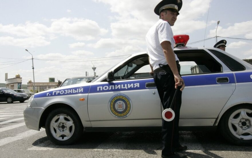 Vairuotojus Rusijoje auklės naujomis baudomis