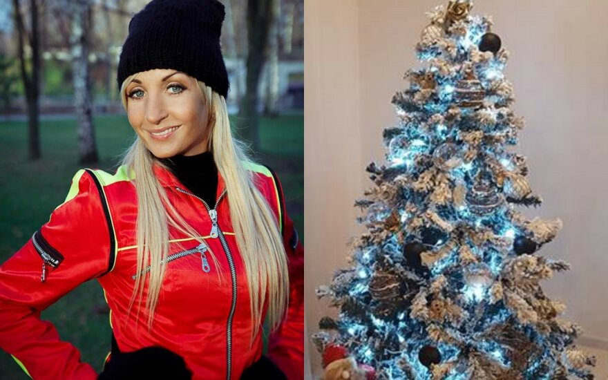 Gerda Stiklickienė, kalėdinė eglutė