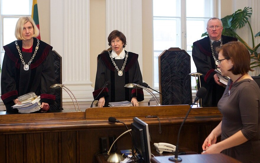 Teisėjai Daiva Pranytė-Zalieckienė, Violeta Ražinskaitė ir Kęstutis Jucys