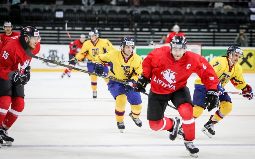 """Pasaulio čempionato antroji diena: NHL žaidėjų šou Kauno """"Žalgirio"""" arenoje"""