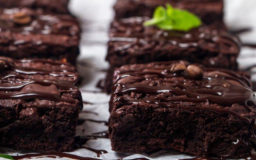 Gardusis šokoladinis moliūgo pyragas