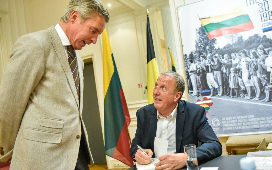 Knygos apie Lietuvą pristatymas // Lietuvos ambasados Belgijoje nuotr.