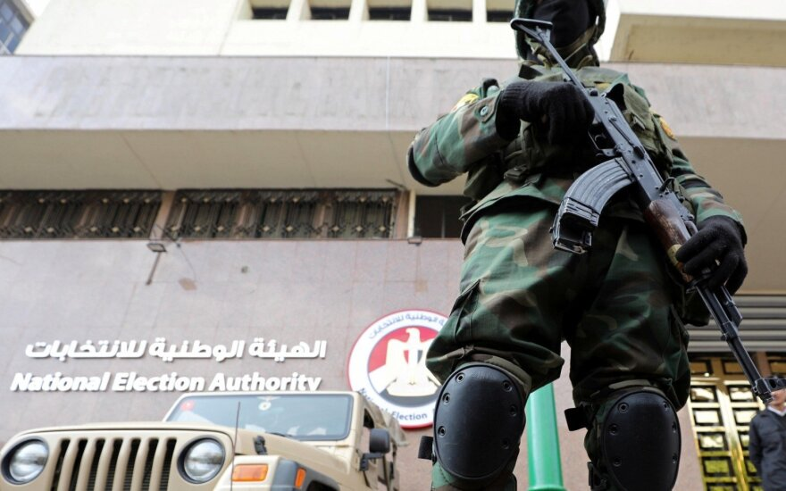 Egipto specialiųjų pajėgų karys