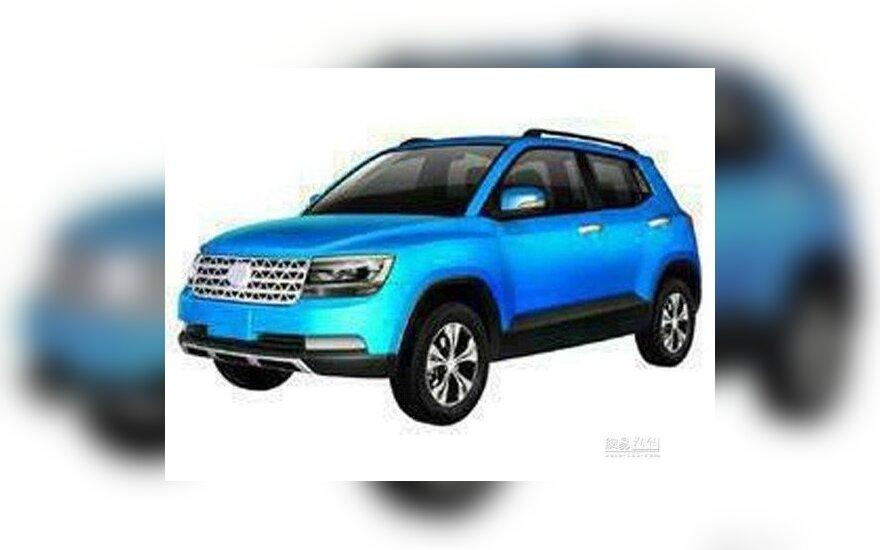Volkswagen Taigun kopija iš Kinijos