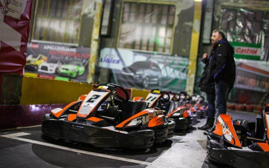 Žurnalistų autoklubo kartingo čempionato III etapas