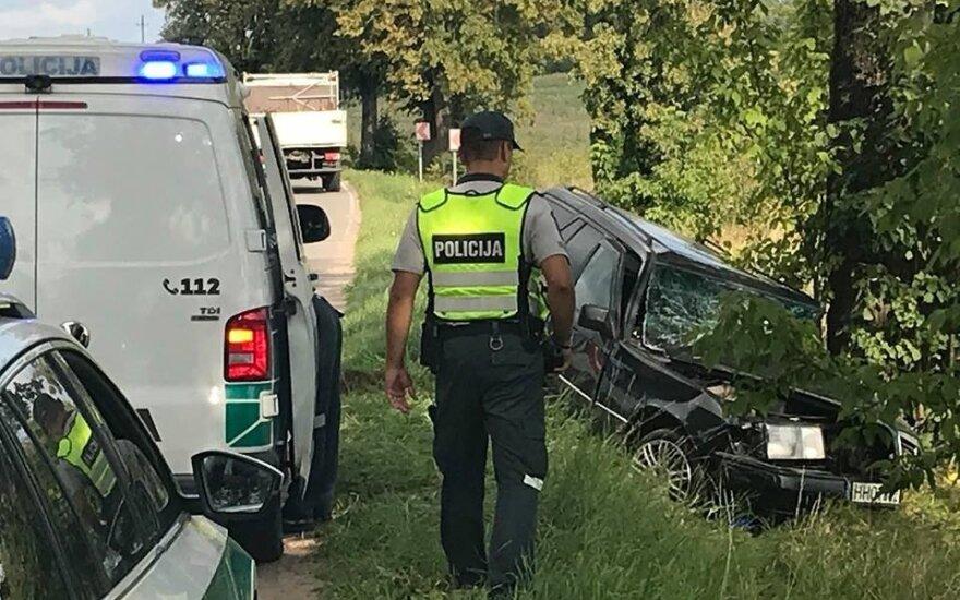 Tragiška avarija tarp Trakų ir Lentvario – prie naujųjų kapinių žuvo vairuotojas