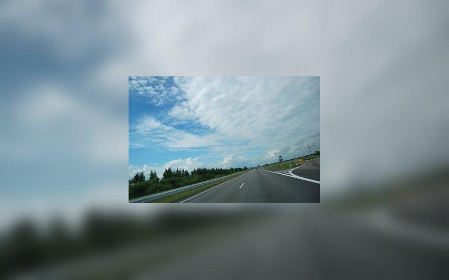 """""""Via Baltica"""" magistralės posūkyje – pavojai"""
