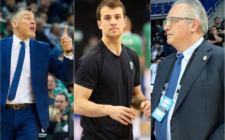 Šarūnas Jasikevičius, Kevinas Pangosas, Maurizio Gherardini