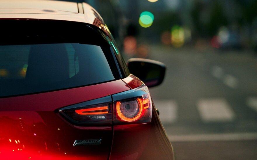 """Atnaujintas 2018 m. """"Mazda CX-3"""""""