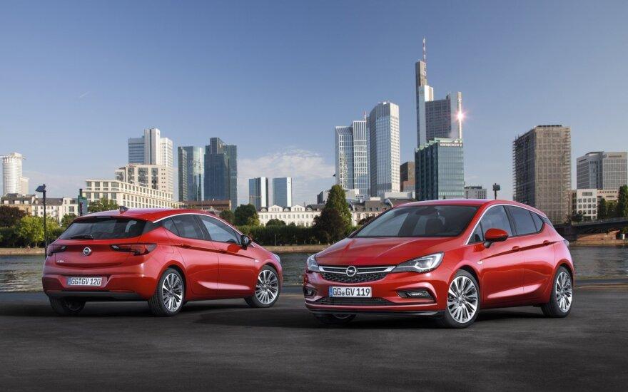 """Naujasis """"Opel Astra"""""""