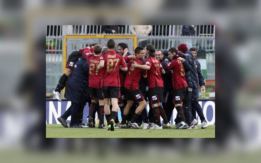 """Livorno"" klubo futbolininkai"