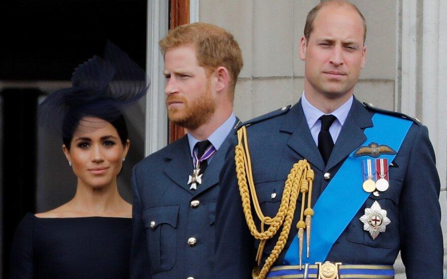 Princas Williamas, princas Harry ir Meghan Markle
