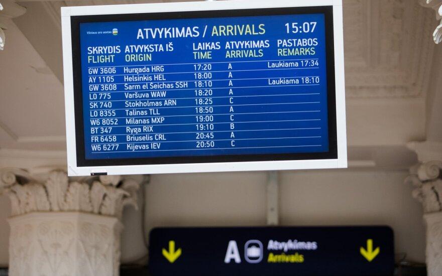 Lietuvos oro uostai: po oro uostų sujungimo įmonės pelnas išaugo 235 proc.