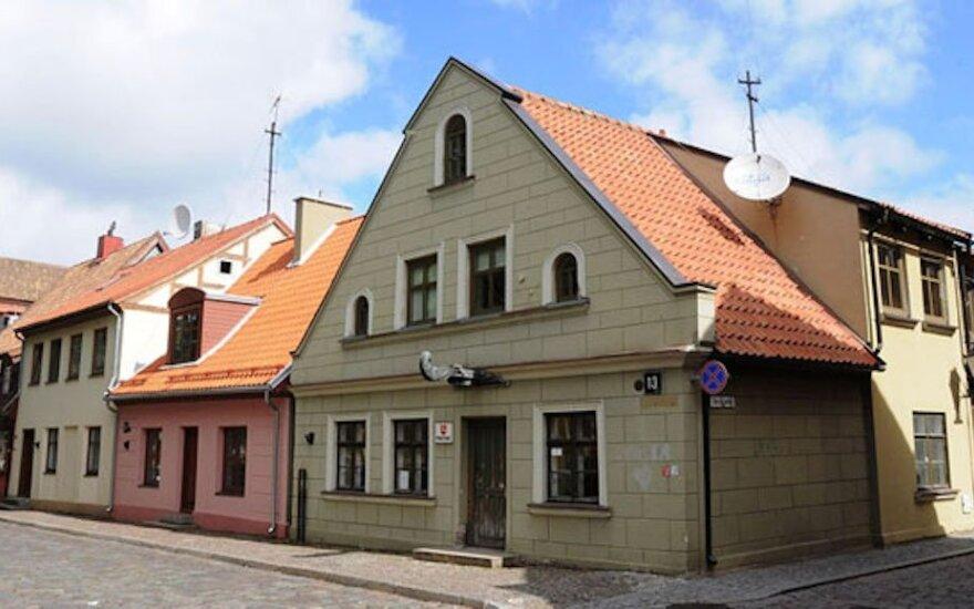 Pašto Klaipėdos senamiestyje miestas nebenori