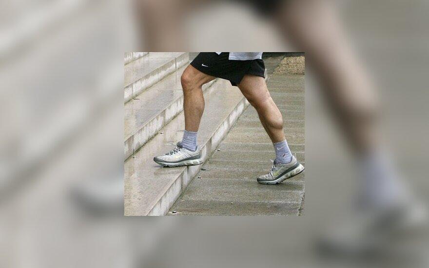Bėgimo varžybas palaikė gėjų paradu