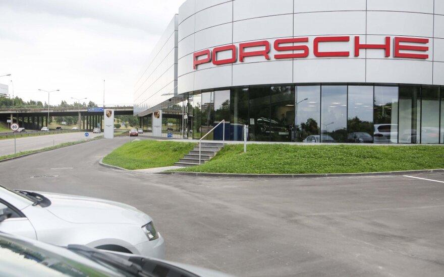 """""""Porsche"""" salono ir serviso atidarymas"""