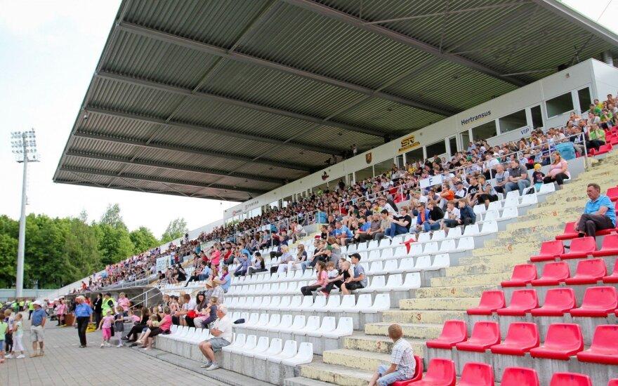 Dešimtmetį švenčiantis Marijampolės stadionas Čempionų lygą pasitinka atsinaujinęs