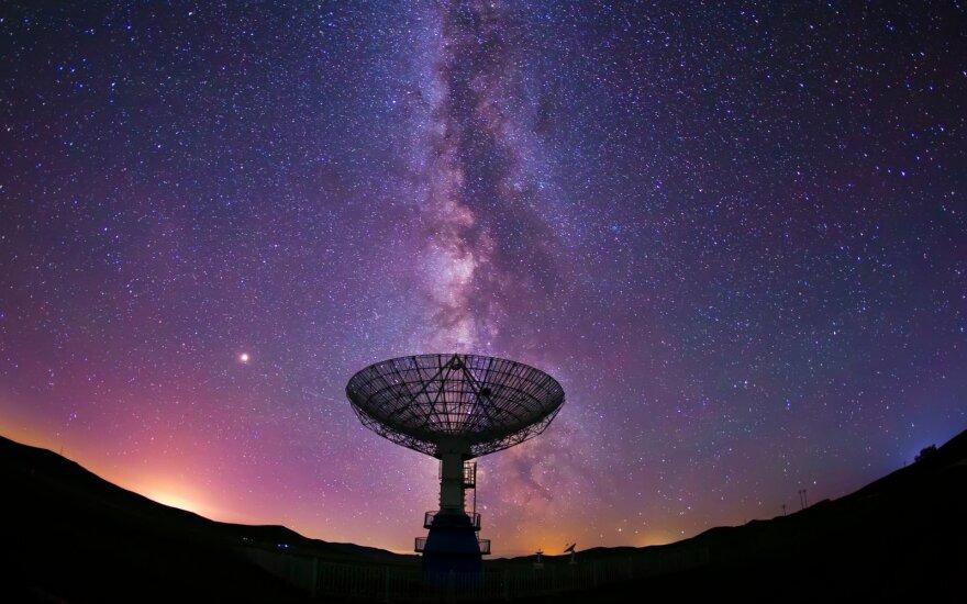 Signalai iš Paukščių tako galaktikos.