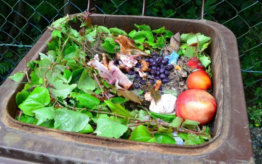 Maisto atliekos galėtų virsti kompostu arba biodujomis