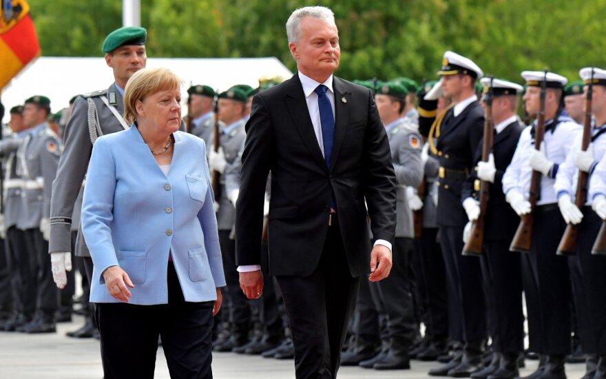 Berlyne dėl dviejų procentų gynybai klausimų sulaukęs Nausėda pasiuntė aiškią žinią