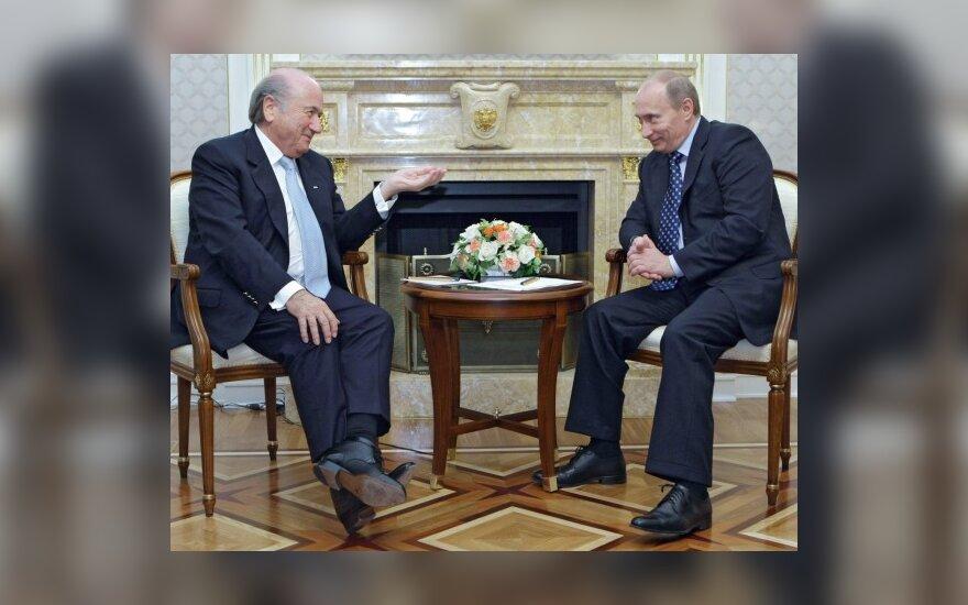 Josephas Blatteris ir Vladimiras Putinas