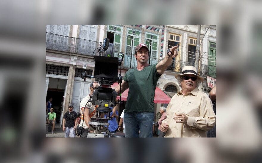 "Sylvesteris Stallone   ""Incognito Films"" nuotr."