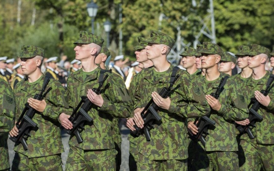 600 volunteers start service in 3 battalions in Lithuania