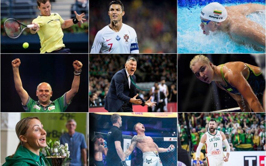 2019-ųjų metų sporto apžvalga