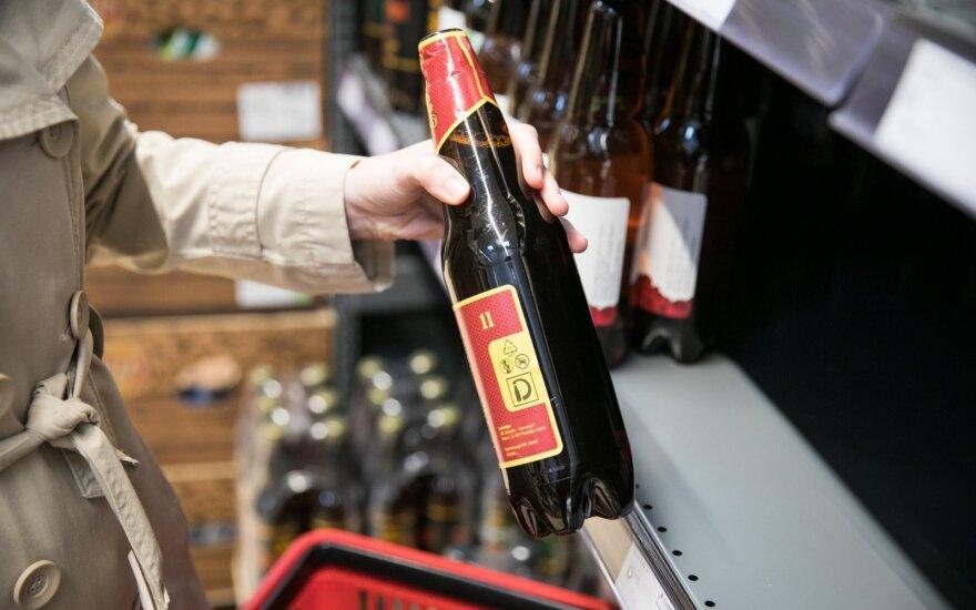 Tikrina prekiaujančius alkoholiu: jau pričiupo prasižengusių