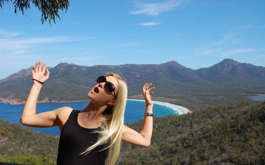Australijoje 5 metus gyvenanti lietuvė Erika: čia pildau savo svajones