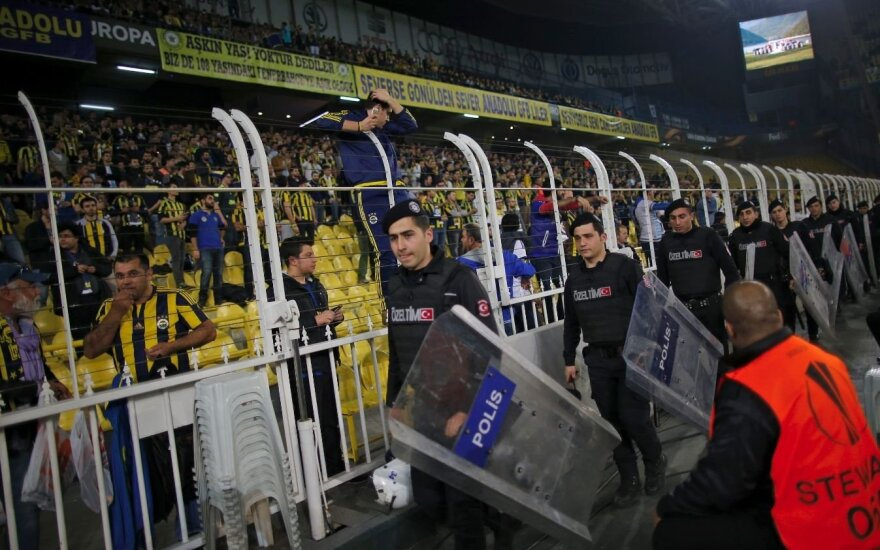 Turkų policija