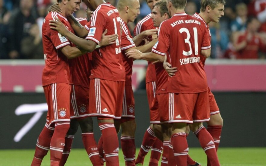 """""""Bayern"""" klubo futbolininkai"""
