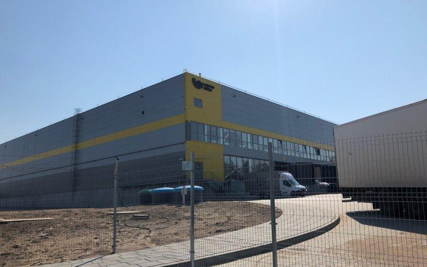 Lietuvos pašto logistikos centre Vilniuje rasta įtartina siunta iš Olandijos