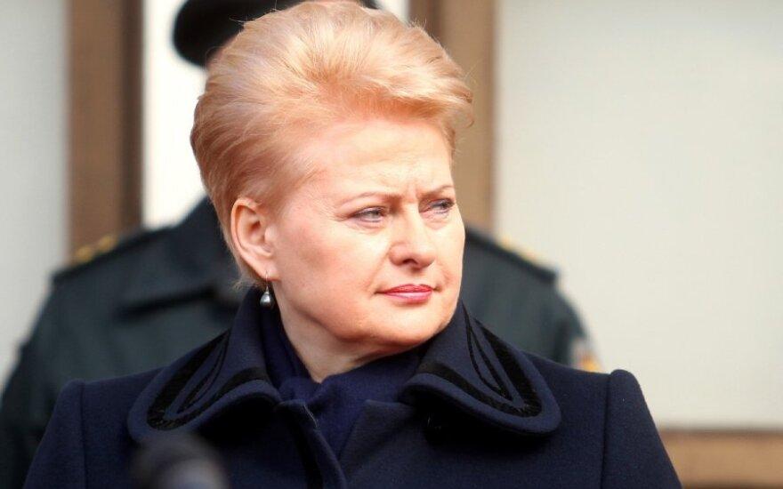 D. Grybauskaitė: ką įrodo V. Romanovo paleidimas
